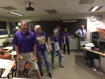 ACHS teachers participate in armed intruder drill