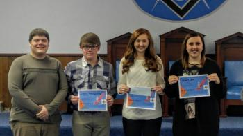 Masons Essay Contest Winners