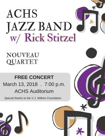Rick Stitzel Concert Flier