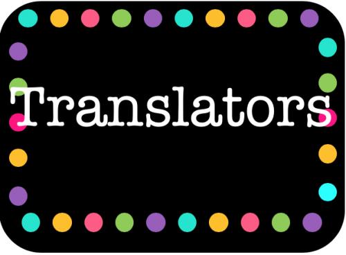 Translators
