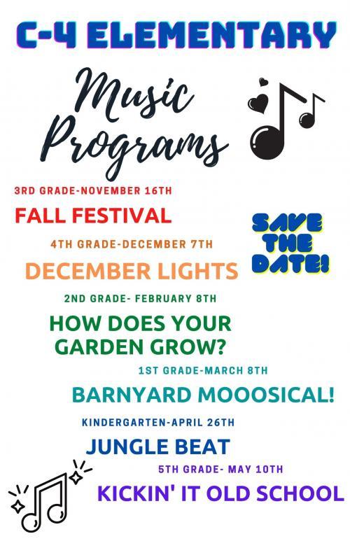 Music Programs 2021/22