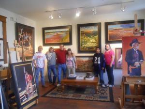 Bill WIlliams's Art Studio