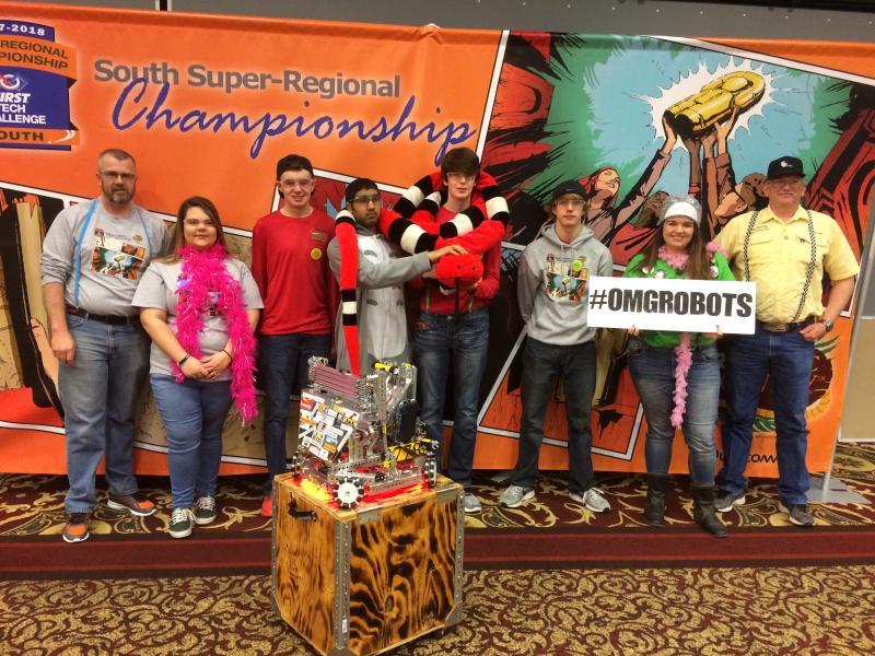 Kelton at World Championship in FTC Robotics