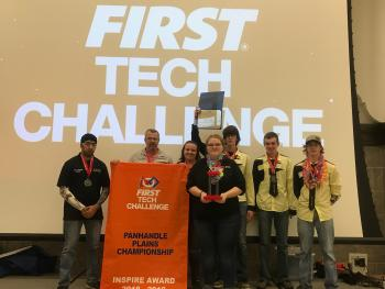 Team 9778 Chinchillas returned to the state FTC competition in Lubbock for the fourth time