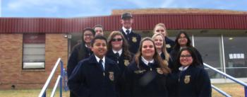 The winners from Kelton FFA at the Top of Texas competetion