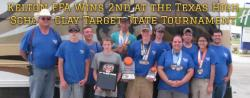 Kelton FFA Wins 2nd at the Texas High School Clay Target State Tournament