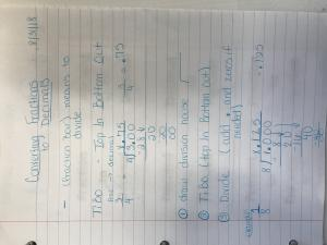 Oglesby Independent School District - 6th Grade Math Notes