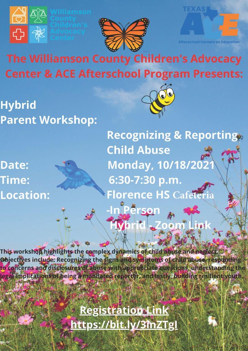 ACE Afterschool Program Parent Workshop