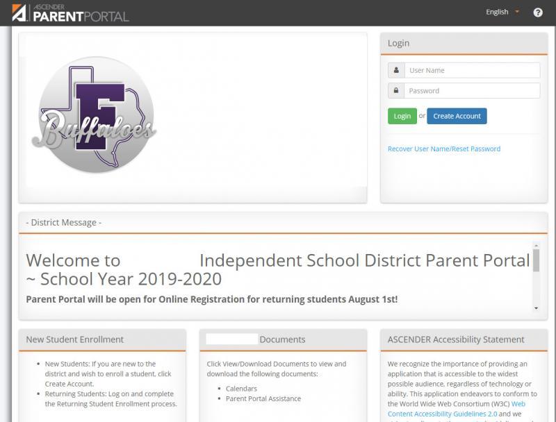Important Message: Parent Portal