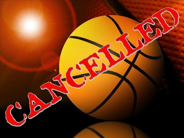 Girls Basketball 11/17 game cancelled