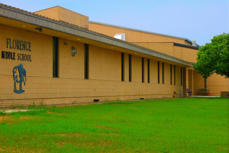 Landscape View facing Florence Middle School