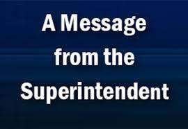 Message from Florence ISD Superintendent