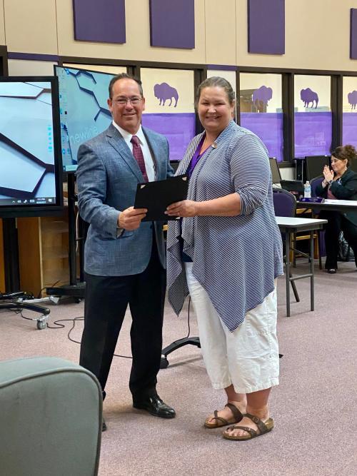 Lillian Barnett Named Employee of the Month