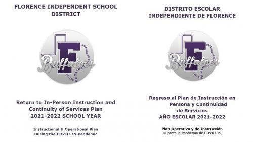 Return to In-Person Instruction and Continuity of Services Plan