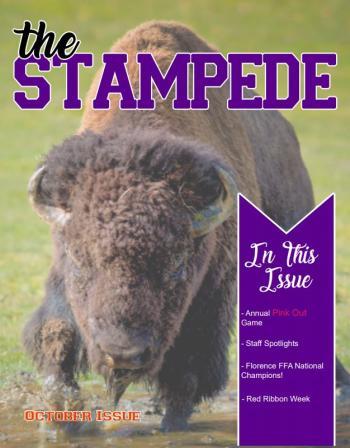 Stampede October cover