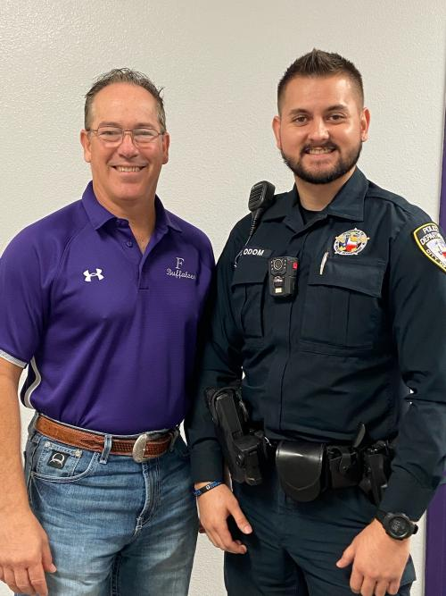 Officer Odom Becomes District's School Resource Officer