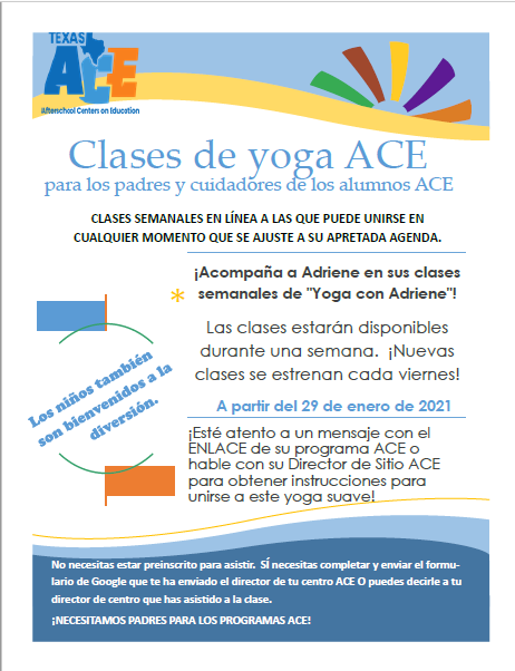 Yoga Spanish