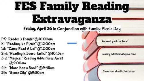 FES Family Reading Flyer- English