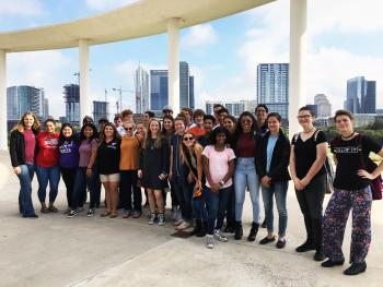 Theatre and AP English trip to Austin