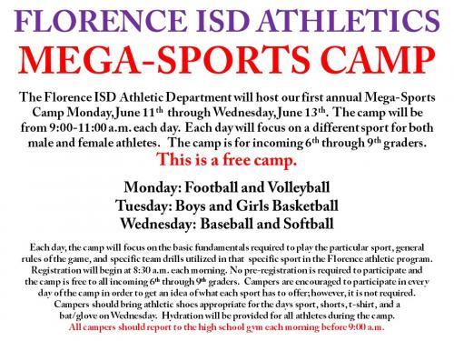 Mega-Sports Camp