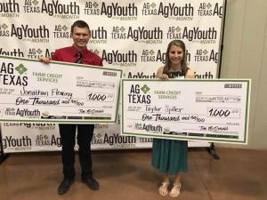 Ag Texas Winners
