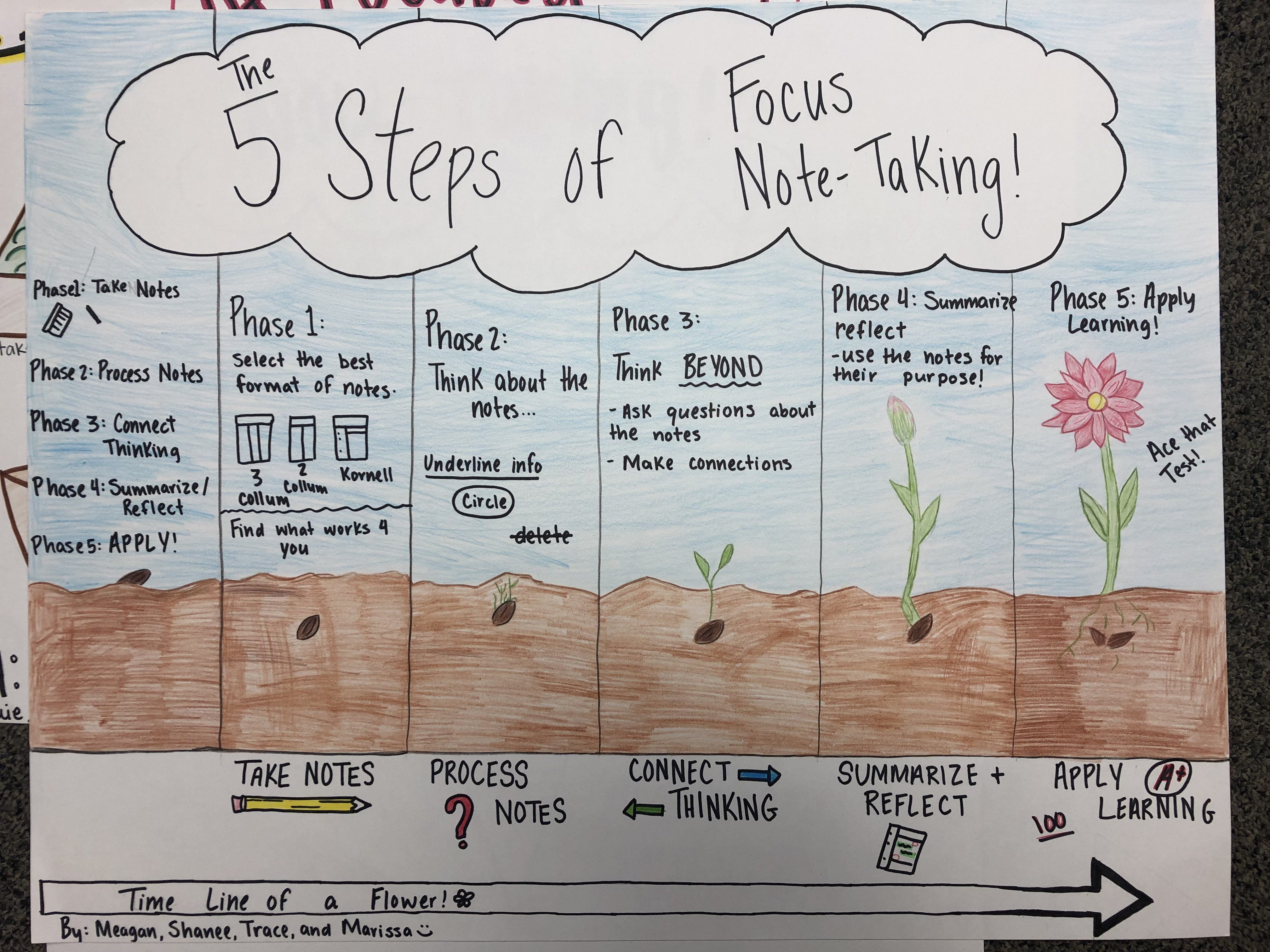 5 Steps of Focused Note Taking