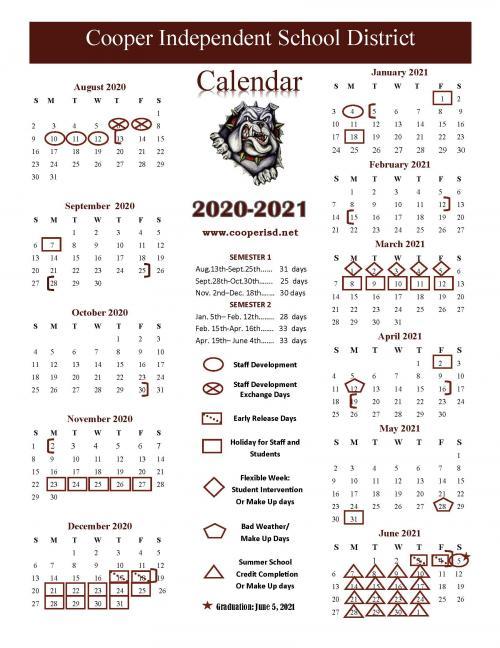 2020.2021 calendar