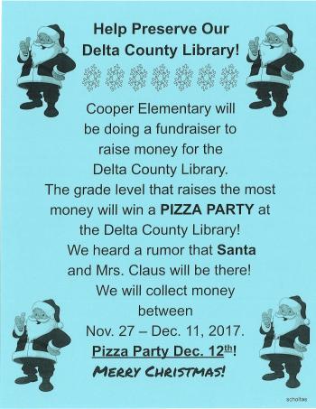 Delta County Library Fund Raiser
