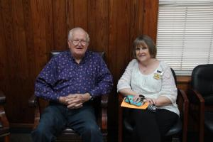 Mr. James Cranford and Mrs. Lynn Davis visited.
