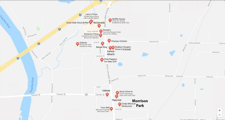 Morrison Park and North Malvern Restaurants