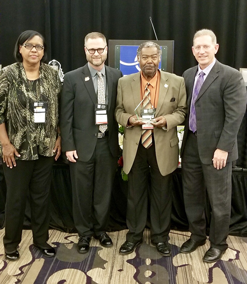 School Board Member Jesse Clark Receives Professional Development Award