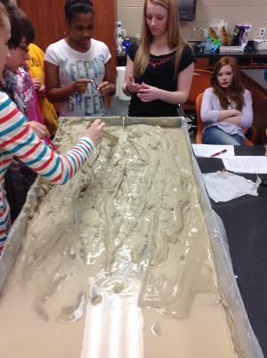River Erosion Model
