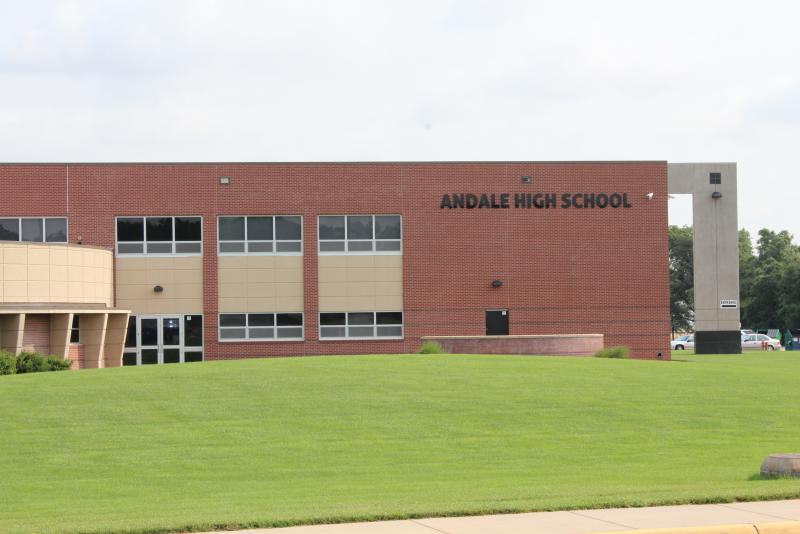 Landscape View facing Andale High School