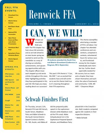 FFA Newsletter image