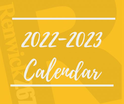 2022-2023 Calendar