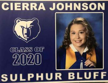 Senior Spotlight - Cierra Johnson