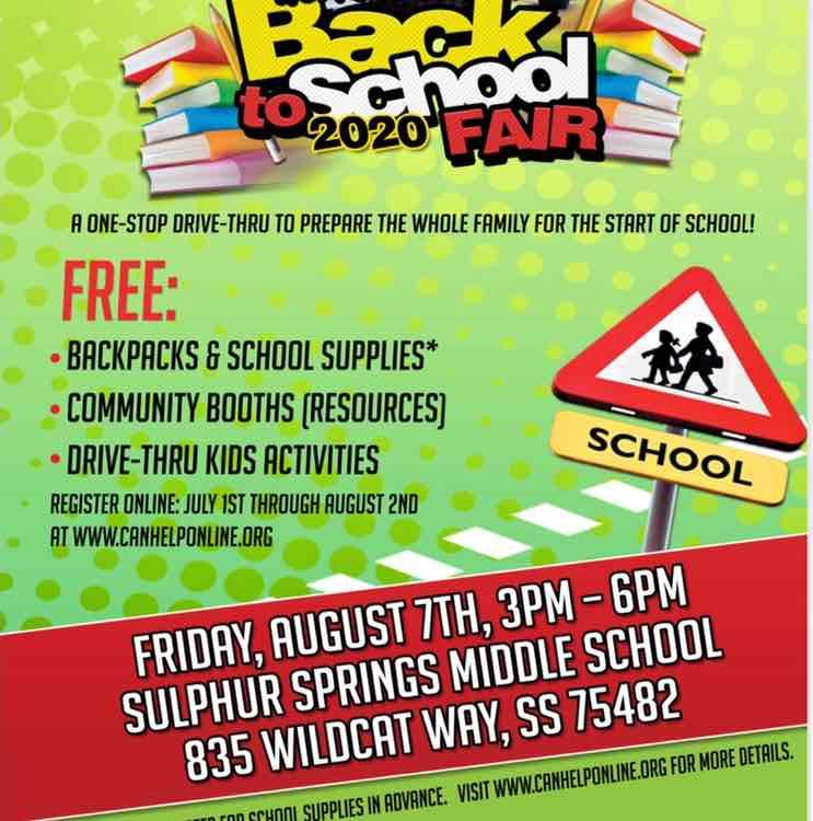 CANHelp Back to School Fair