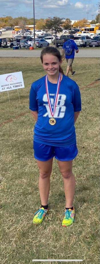 Bailey Neal Wins Region III Cross Country Meet!