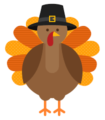 Thanksgiving Holidays - November 25th - 29th.