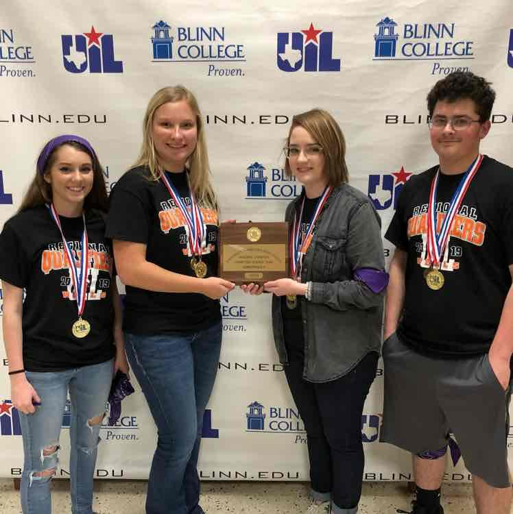 Wells HS Computer Science Team wins Regional Championship