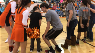 Christmas pep rally and Alto