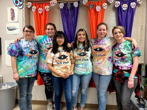 2019-2020 Art Club Officers