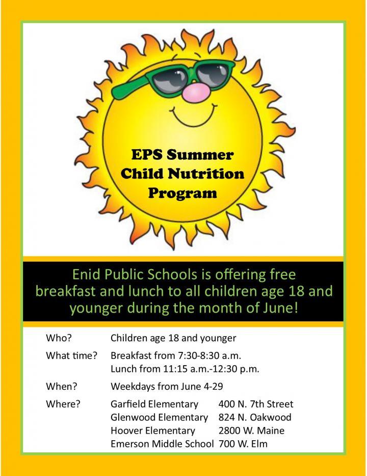 Summer Nutrition Program