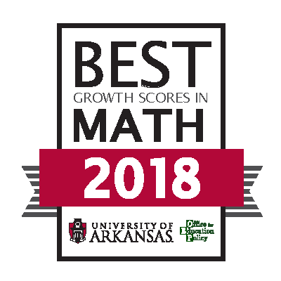 Best Growth Scores in Math 2018