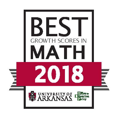 Best Growth Scores in Math 2018