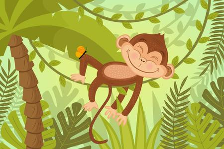 Monkey In Tree OOOH
