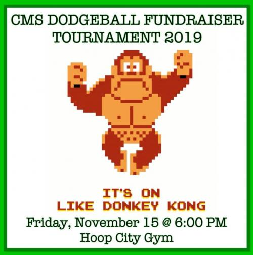 Dodgeball Tournament Logo 2019