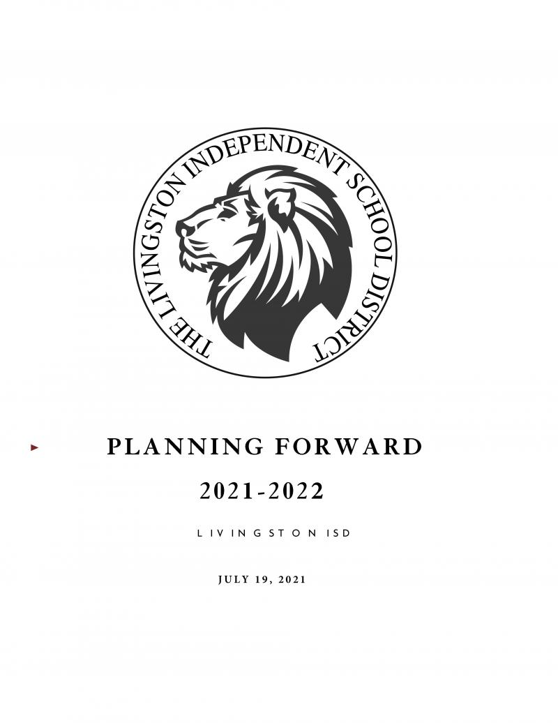 Planning Forward & Returning to School Guidelines