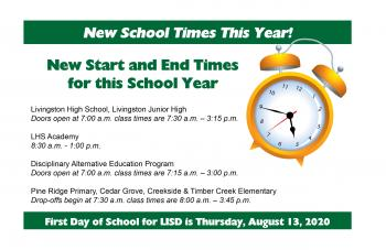 New School Times This Year