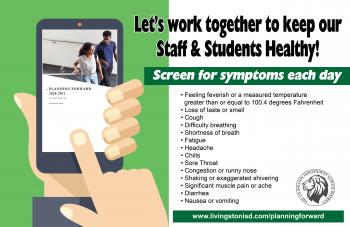 Keep Our Staff & Students Healthy